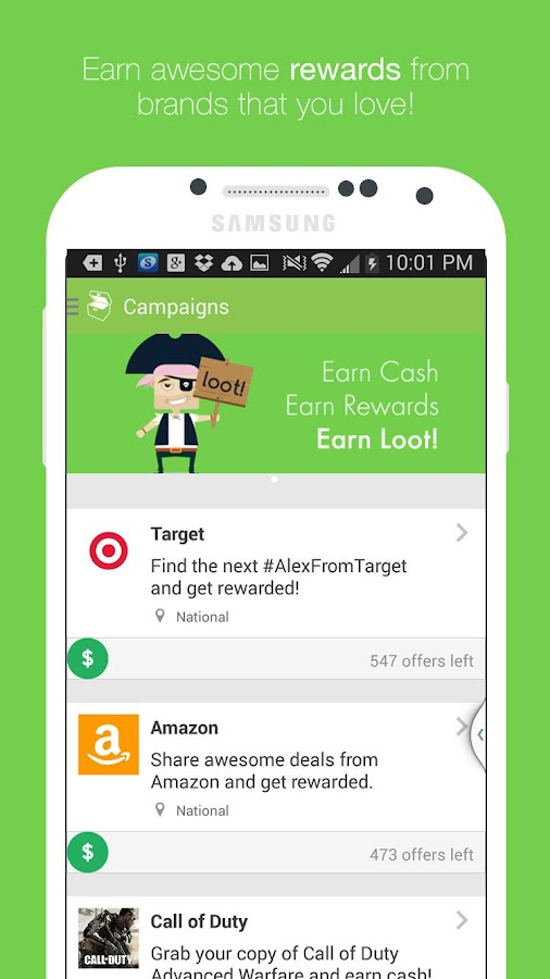 Loot! - Earn cash and rewards - screenshot
