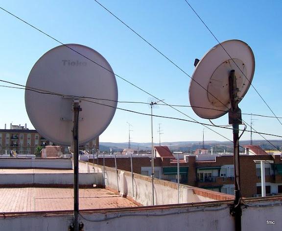 Mis parábolas de satélites