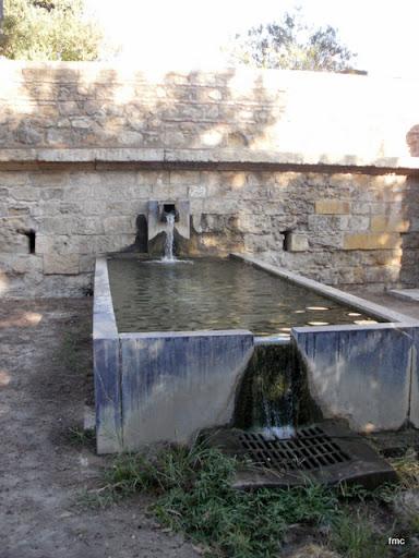 Fuente del Paseo de la Muralla.