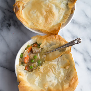 Phyllo Chicken Pot Pie