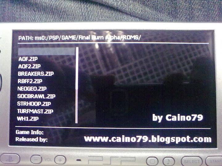Tieni gli occhi aperti: PSP: Final Burn Alpha - Emulatore