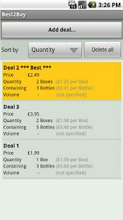 Best2Buy - compare deal prices - screenshot thumbnail