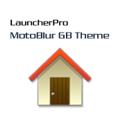 LauncherPro MotoBlur GB Theme