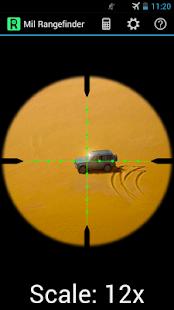Mil Rangefinder - screenshot thumbnail