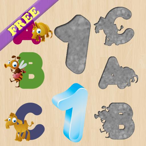 字母拼圖幼兒 ! 教育 App LOGO-APP試玩