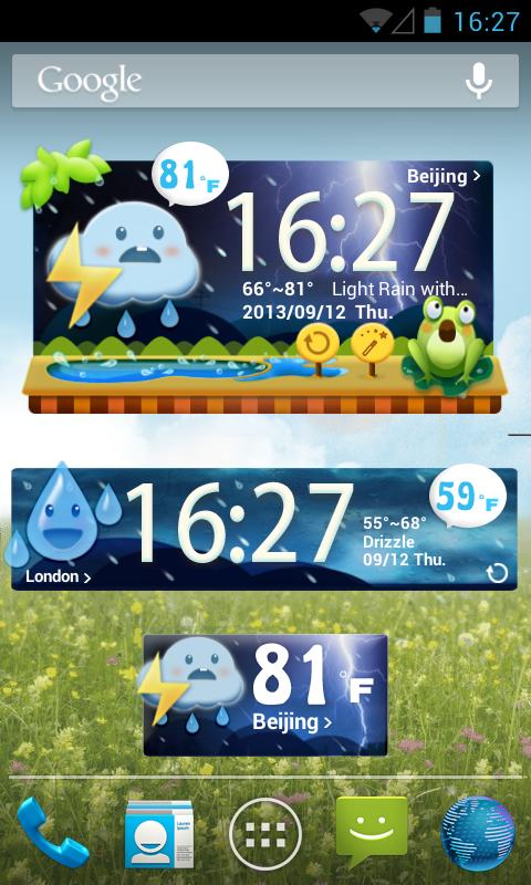 Cute Garden GO Weather Widget APK Latest Version Download