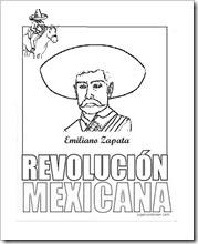 Dibujo Para Colorear De La Revolucion Mexicana