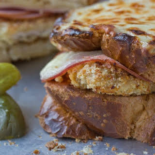 Chicken Cordon Bleu-Croque Monsieur.