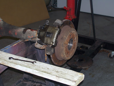 rear disc from grand cherokee on a 8 3/4 | For A Bodies Only