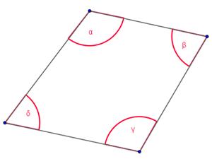 Matematicamedie somma angoli interni di un quadrilatero for Disegnare interni