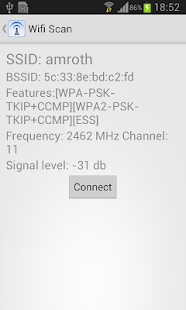 WIFI Scan Pro - screenshot thumbnail