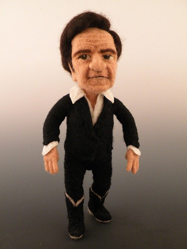 Kay Petal S Needle Felted Celebrity Wool Sculptures
