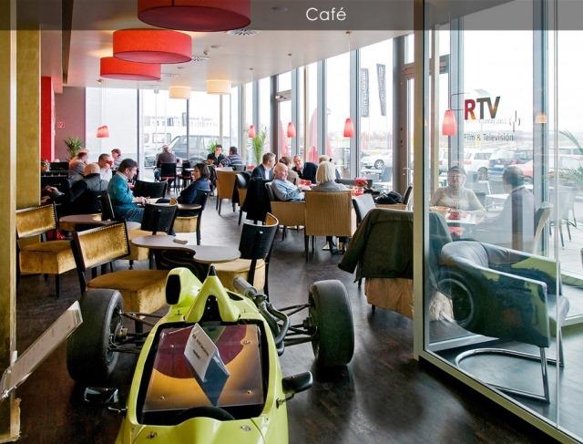 v8 hotel for car lovers in stuttgart amusing planet. Black Bedroom Furniture Sets. Home Design Ideas
