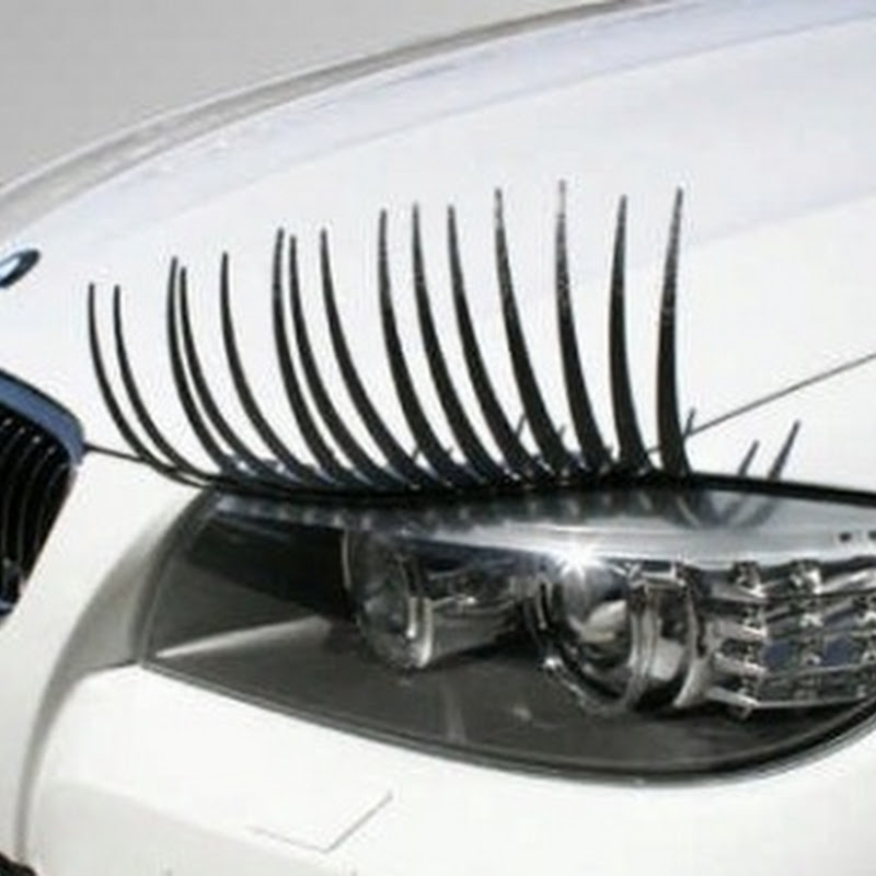 CarLashes Give Your Car a Feminine Touch