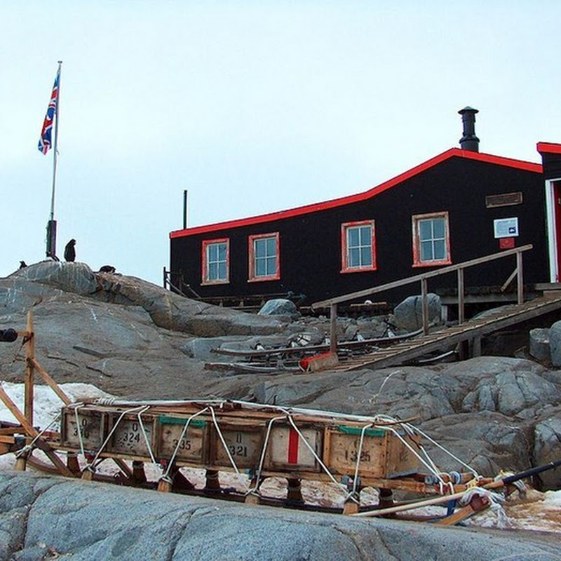 Port Lockroy Museum and Post Office in Antarctica
