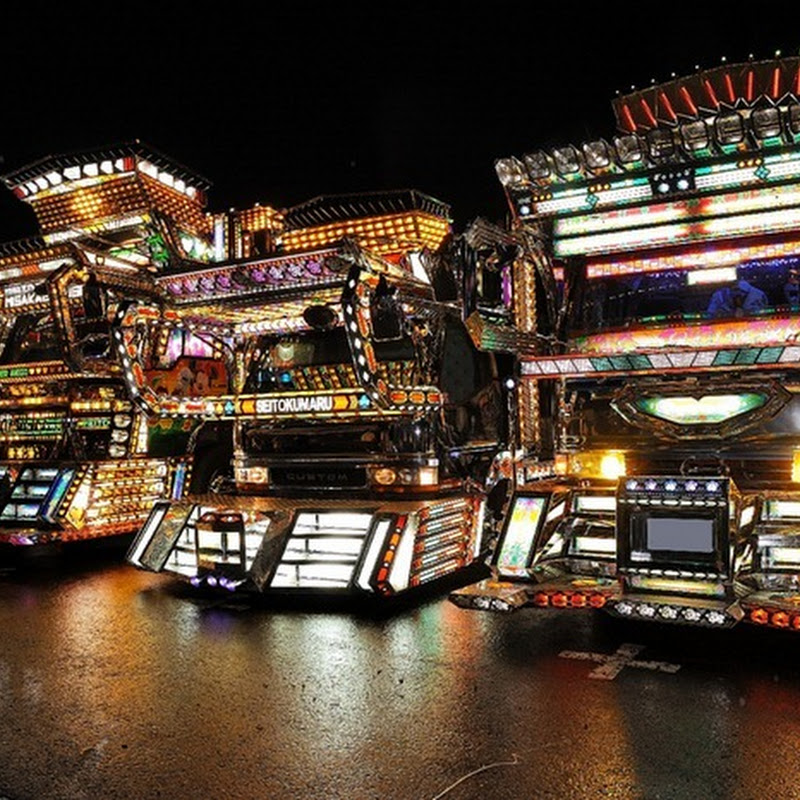 Dekotora: The Ridiculously Decorated Trucks of Japan
