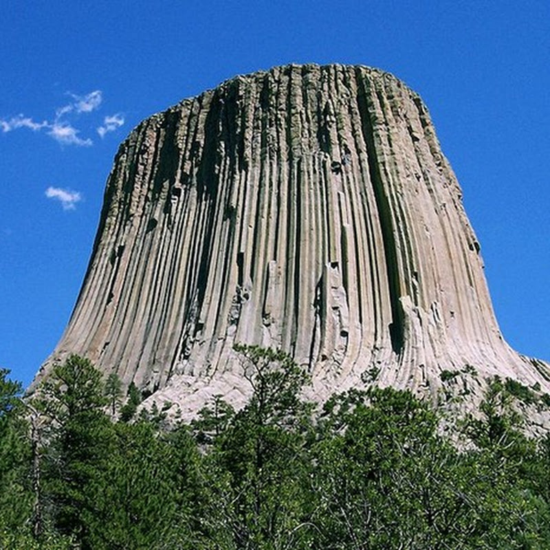 Devil's Tower at Wyoming, USA