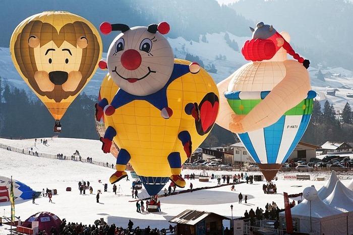 Kết quả hình ảnh cho world balloon festival Château-d'Oex