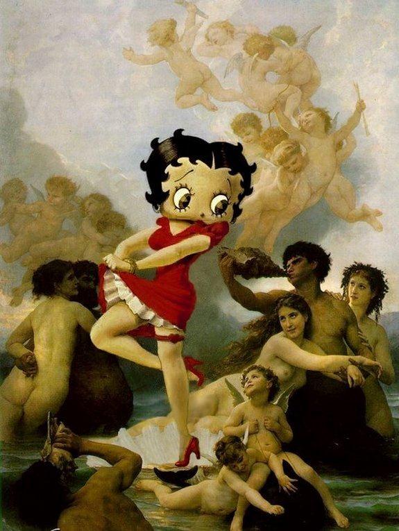 前へ 次へ 出典 有名絵画に入りこんだかわいらしいアニメキャラクター達【ディズニー】