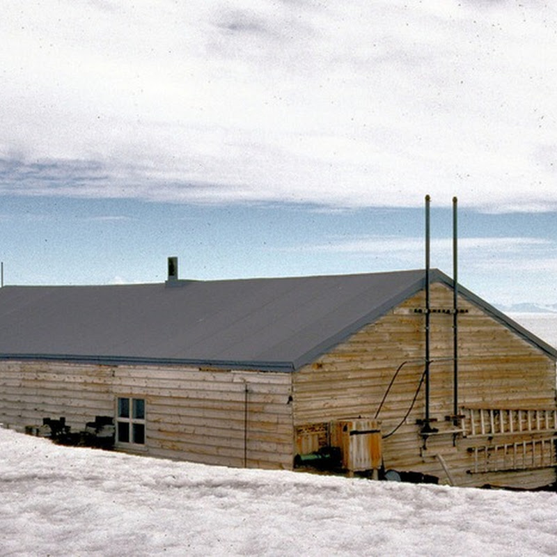 Captain Robert Scott's Hut in Antarctica