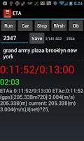 Screenshot of ETA - Estimated Arrival Time