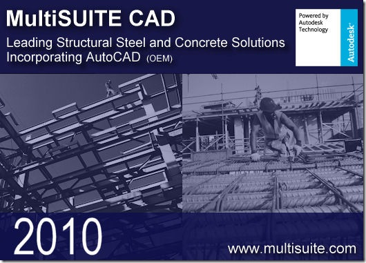 MultiSUITE CAD 2010 Structural and Rebar Detailing | CAD/CAM