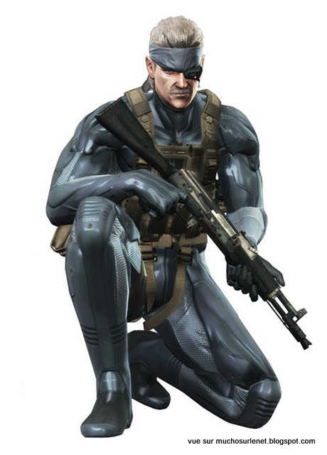 Solid Snake – Metal Gear Solid 4