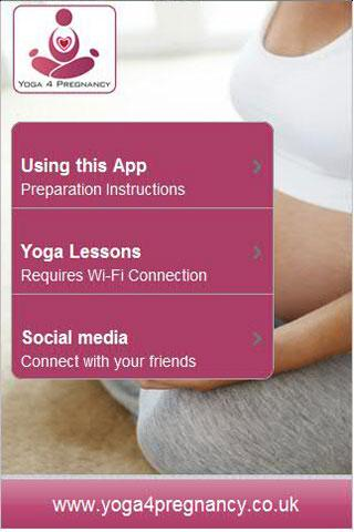 Yoga for Pregnancy- screenshot