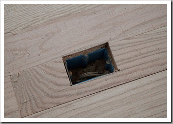 Hardwood floor electrical outlet gurus floor for Hardwood flooring outlet