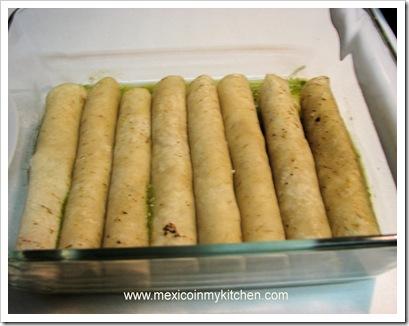 Swiss Green Enchiladas | Mexican Recipes