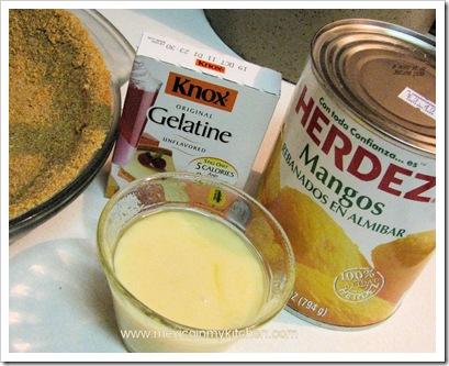 How to Make No-Bake Mango Pie Ciudad Mante Style | Ingredients