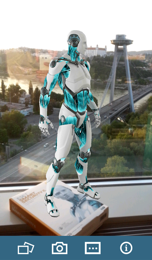 ESET Augmented Reality BETA- screenshot
