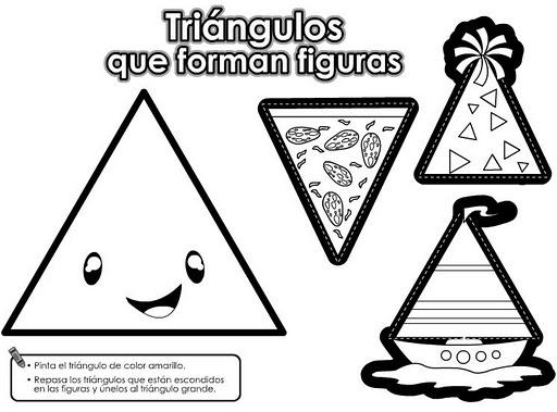 Dibujos Con Formas De Triangulos Imagui