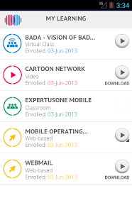 ExpertusONE Mobile 4.1 - screenshot thumbnail