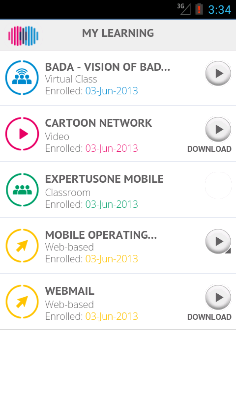 ExpertusONE Mobile 4.1 - screenshot