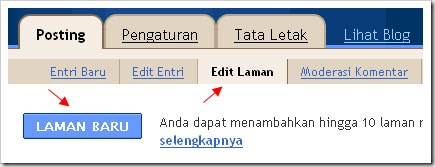 buat static pages