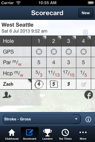 West Seattle Golf Course- screenshot