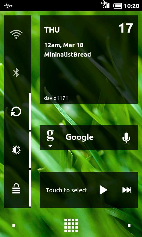 MinimalBread - CM7 Theme - screenshot