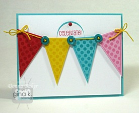 polka dot pennants