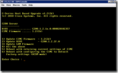 Terence Luk: Mouse non responsive when configuring Cisco UCS