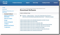 Terence Luk: Updating Cisco UCS C-Series server's firmware with
