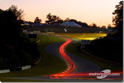 30.09.2010 Road Atlanta Motorsports Center, USA, Lights in the Esses