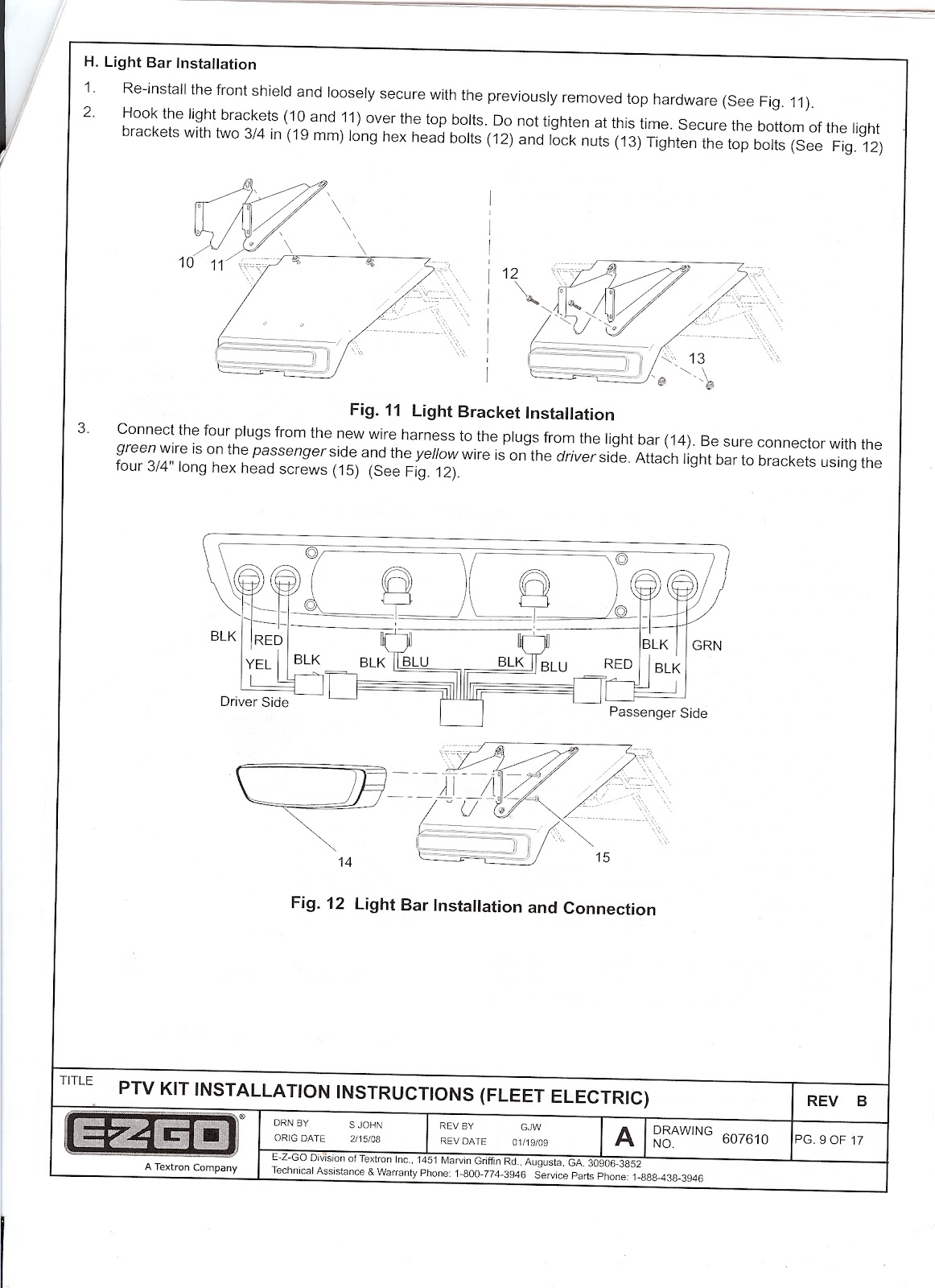 Ezgo Marathon Wiring Diagram Light - Wiring Diagram & Schemas