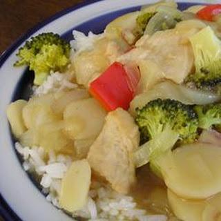 Lemon Turkey Stir-Fry