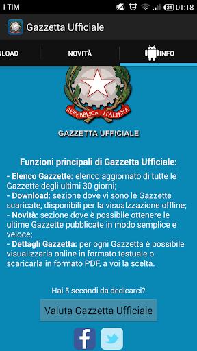 【免費書籍App】Gazzetta Ufficiale-APP點子