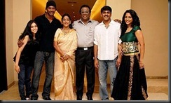 Vishal With his Family