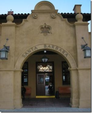 santa barbara train ststion