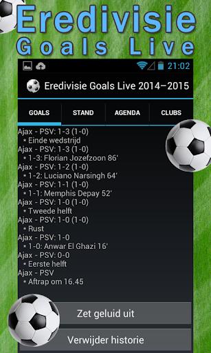 Eredivisie Goals Live
