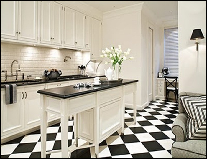 Good Life Of Design: Black And White Floors