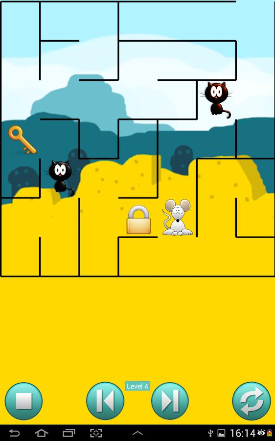 Cat Mouse Maze Games